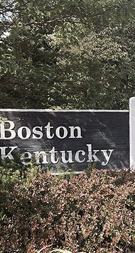 boston kentucky